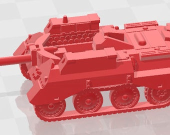 Tetrarch - UK - Tanks - Armored Vehicle - World Of Tanks - War Game - Wargaming - Axis and Allies - Tabletop Games