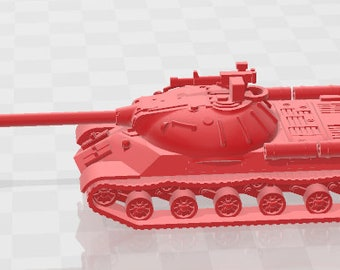 IS-3 - USSR - Tanks - Armored Vehicle - World Of Tanks - War Game - Wargaming - Axis and Allies - Tabletop Games