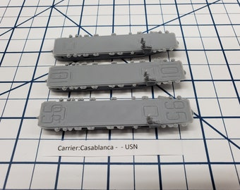 Carrier - Casablanca - USN - Wargaming - Axis and Allies - Naval Miniature - Victory at Sea - Tabletop Games - Warships