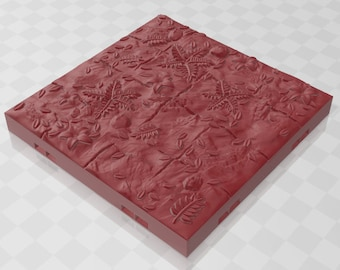 "Forest Base Grid Set 2  - Shadowgrove Set 1 - Fat Dragon Games - DND - Pathfinder - RPG- Terrain- 28 mm / 1"" - Dungeon & Dragons - Warhammer"