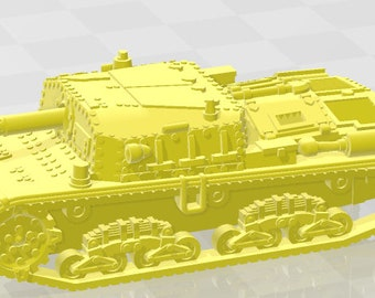 M42 - Italy - Tanks - Armored Vehicle - World Of Tanks - War Game - Wargaming - Axis and Allies - Tabletop Games