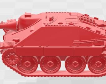 Jagdpanzer 38 Hetzer - Germany - Tanks - Armored Vehicle - World Of Tanks - War Game - Wargaming -Tabletop Games