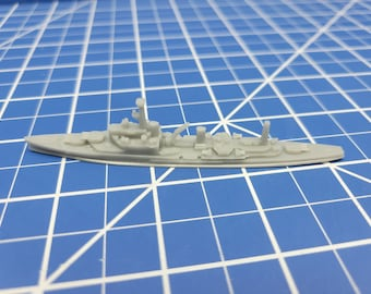 Cruiser - Mysore - Indian Navy - Wargaming - Axis and Allies - Naval Miniature - Victory at Sea - Tabletop Games - Warships