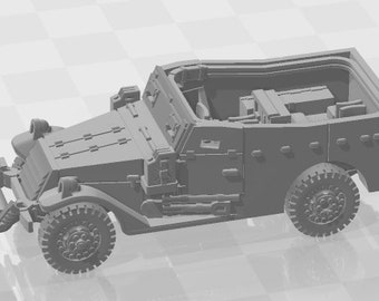 m3a1 Scoutcar - USA - Tanks - Armored Vehicle - World Of Tanks - War Game - Wargaming - Axis and Allies - Tabletop Games