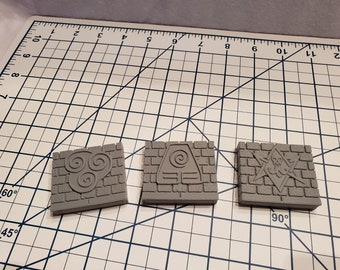 Wall Encounter Tile - OpenLock - OpenForge - DND - RPG - Pathfinder - Terrain - Tabletop - Dungeons & Dragons