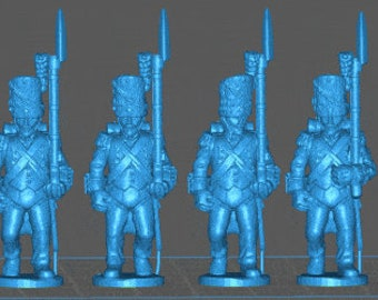 French Line grenadier 1808, loose trousers - Great for Table Top War Games And Dioramas - Resin 28mm Miniatures - Bolt Action -