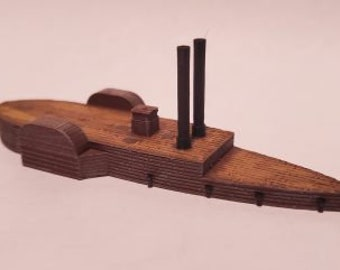 USS Conestoga - Union - Ships - Sailboats - Age of Sail - War Game - Wargaming - Tabletop Games - 1/600 Scale
