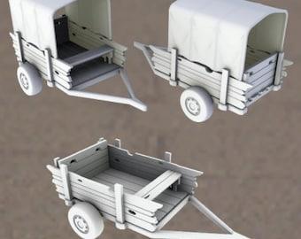 Caravan - Oasis in the Sea of Dirt - Atom Punk - Starfinder - Cyberpunk - Science Fiction - Syfy - RPG - Tabletop- Scatter-28mm