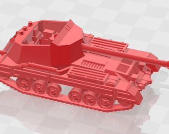 Archer & Bishop - UK - Tanks - Armored Vehicle - World Of Tanks - War Game - Wargaming - Axis and Allies - Tabletop Games
