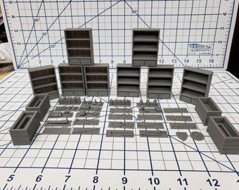 Large General Goods Store Set - Hero's Hoard - EC3D - RPG - Tabletop - Terrain - DND - Pathfinder - Dungeons & Dragons - 28 mm