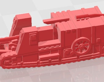 Gun Carrier - UK - Tanks - Armored Vehicle - World Of Tanks - War Game - Wargaming - Axis and Allies - Tabletop Games