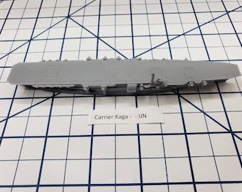 Carrier - Kaga - IJN - Wargaming - Axis and Allies - Naval Miniature - Victory at Sea - Tabletop Games - Warships