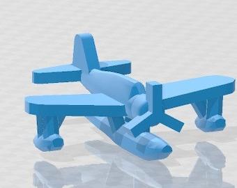 Aircraft - Kingfisher - OS2U -Scout - US Navy - 1:900 - Wargaming - Axis and Allies - Naval Miniature - Victory at Sea - Tabletop - Warships