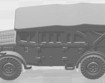 Horch Flak38 Set 2 - Germany - Tanks - Armored Vehicle - World Of Tanks - War Game - Wargaming -Tabletop Games