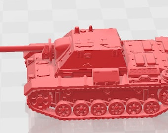 SU-76 - USSR - Tanks - Armored Vehicle - World Of Tanks - War Game - Wargaming - Axis and Allies - Tabletop Games