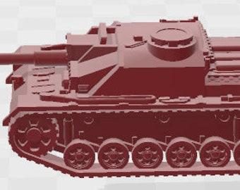 Stug IIIG Set 1 - Germany - Tanks - Armored Vehicle - World Of Tanks - War Game - Wargaming -Tabletop Games