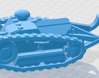 M1917 6T & Ford 3T- USA - Tanks - Armored Vehicle - World Of Tanks - War Game - Wargaming - Axis and Allies - Tabletop Games