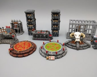 Hero's Hoard Occult and Evil Items - EC3D - DND - RPG - Pathfinder - Miniature