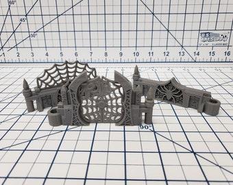 "DungeonSticks - Drow Deluxe Set 50 Tiles! - DND - Pathfinder - Dungeons & Dragons - Terrain - RPG - Tabletop - 28 mm / 1"""