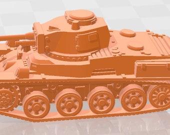 Toldi - Hungary - Tanks - Armored Vehicle - World Of Tanks - War Game - Wargaming -Tabletop Games