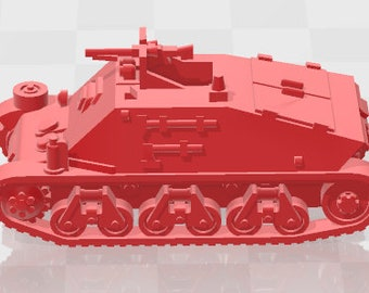 Hotchkiss  - French - Tanks - Armored Vehicle - World Of Tanks - War Game - Wargaming - Axis and Allies - Tabletop Games