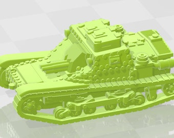 CV35M - Italy - Tanks - Armored Vehicle - World Of Tanks - War Game - Wargaming - Axis and Allies - Tabletop Games