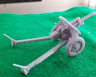 Soviet 122mm Howitzer – Model 1938 M-30 - Great for Table Top War Games And Dioramas - Resin 28mm Miniatures - Bolt Action -