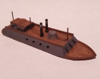 USS Cairo - Union - Ships - Sailboats - Age of Sail - War Game - Wargaming - Tabletop Games - 1/600 Scale