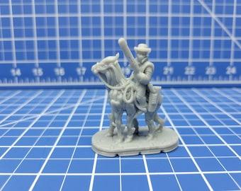 Montana - Space Cowboy - Novus Landing - Hero's Hoard - Starfinder - Cyberpunk - Science Fiction - Syfy - RPG - Tabletop - EC3D - Miniature