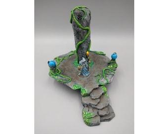 "OpenForge - Places of Power - Rock Pillar - Tabletop - DND - Pathfinder - RPG - 28 mm / 1"" - Terrain - Dungeons & Dragons - Warhammer"