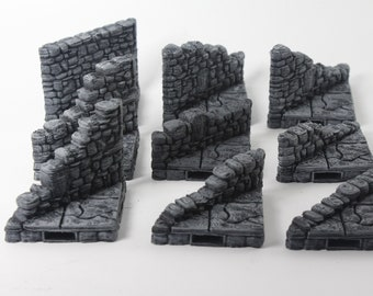 Ruined Stone Starter Set 26 Tiles! - OpenLock - Openforge - DND - Pathfinder - RPG - Tabletop