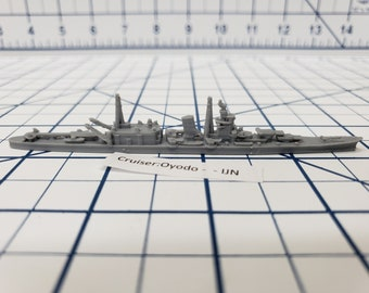 Cruiser - Oyodo - IJN - Wargaming - Axis and Allies - Naval Miniature - Victory at Sea - Tabletop Games - Warships