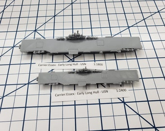 Carrier - Essex - USN - Wargaming - Axis and Allies - Naval Miniature - Victory at Sea - Tabletop Games - Warships