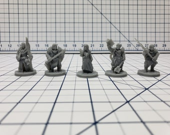 The Holy Order of Ash Minis - Hero's Hoard - DND - Pathfinder - Dungeons & Dragons - RPG - Tabletop - EC3D - Miniature