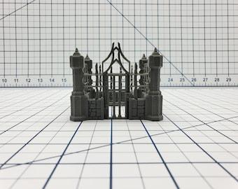 "Skyless Realms - Dark Elf - Slave Pen - DND - Dungeons & Dragons - RPG - Tabletop - EC3D - Miniature - 28 mm - 1"" scale"