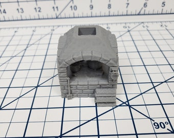 """Cooking Heart - OpenForge - DND - Pathfinder - RPG - Dungeon & Dragons - 28 mm / 1"""" Scale - Dungeon and Map Accessories"""
