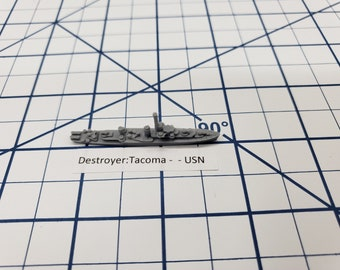 Frigate - Tacoma Class - USN - Wargaming - Axis and Allies - Naval Miniature - Victory at Sea - Tabletop Games - Warships