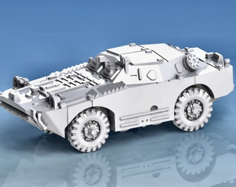 BRDM 1 - Russia - Armored Vehicle - World Of Tanks - War Game - Wargaming - Axis and Allies - Tabletop Games