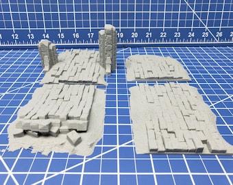 Ruin Roads - DND - Dungeons & Dragons - RPG - Pathfinder - Tabletop - TTRPG - Devious Games - 28 mm