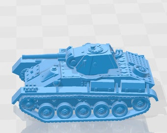T-70 - USSR - Tanks - Armored Vehicle - World Of Tanks - War Game - Wargaming - Axis and Allies - Tabletop Games
