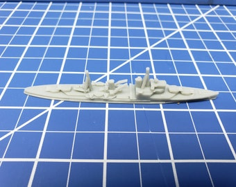Cruiser - Southampton 1940 Variant - Royal Navy - Wargaming - Axis and Allies - Naval Miniature - Victory at Sea - Tabletop Games - Warships