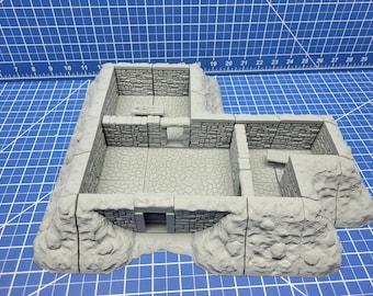 "Barrow Mounds - Side Tiles - Dragonshire - Fat Dragon Games - DND - Pathfinder - RPG - Terrain - 28 mm / 1"" - Dungeon & Dragons - Warhammer"