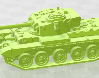 Comet - UK - Tanks - Armored Vehicle - World Of Tanks - War Game - Wargaming - Axis and Allies - Tabletop Games