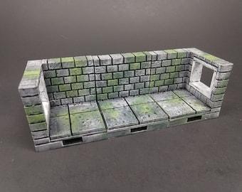 "Cut Stone Premium Set 60 Tiles! - OpenLock or DragonLock - Openforge - DND - Pathfinder - Dungeons & Dragons - RPG - Tabletop - 28 mm / 1"""