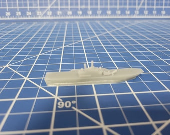 Carrier - Helicopter Platform - San Giorgio-Class - Italian Navy - Wargaming - Axis and Allies - Naval Miniature - Victory at Sea - Warships