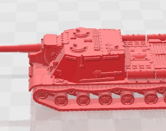 ISU-152 - USSR - Tanks - Armored Vehicle - World Of Tanks - War Game - Wargaming - Axis and Allies - Tabletop Games