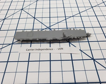 Carrier - Independence - USN - Wargaming - Axis and Allies - Naval Miniature - Victory at Sea - Tabletop Games - Warships