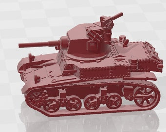 Stuart M3 - UK - Tanks - Armored Vehicle - World Of Tanks - War Game - Wargaming - Axis and Allies - Tabletop Games