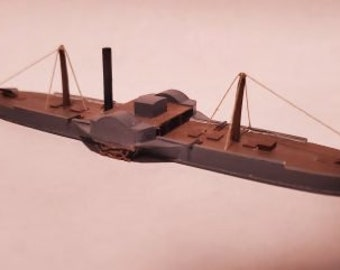 USS Miami - Union - Ships - Sailboats - Age of Sail - War Game - Wargaming - Tabletop Games - 1/600 Scale