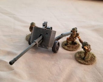 17 Pounder ATG – Model 1938 M-30 - Great for Table Top War Games And Dioramas - Resin 28mm Miniatures - Bolt Action -